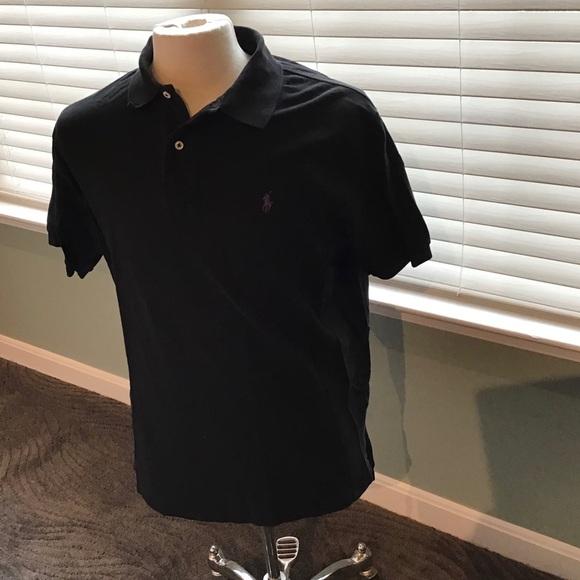 Polo by Ralph Lauren Other - Polo Ralph Lauren Black Polo Shirt EUC